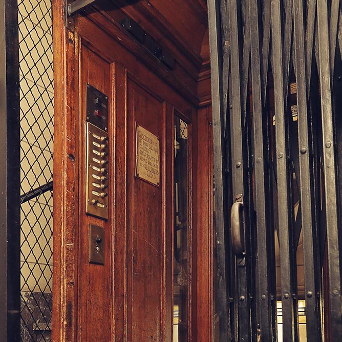 découpe de cage d'escalier à Paris